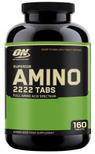 Аминокислоты Optimum Nutrition Superior Amino 2222 (160 таб)
