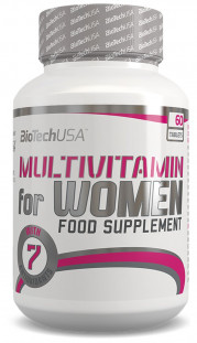 BioTech Multivitamin FOR WOMEN (60 таб)